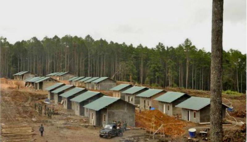 Membuka ratusan hektar lahan hutan untuk membangun rumah bagi pengungsi gunung Sinabung yang telah ditelantarkan pemerintahan sebelumnya.